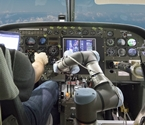 The technology would allow pilots to turn over core flight functions to a robot. Image source: Aurora Flight Sciences.