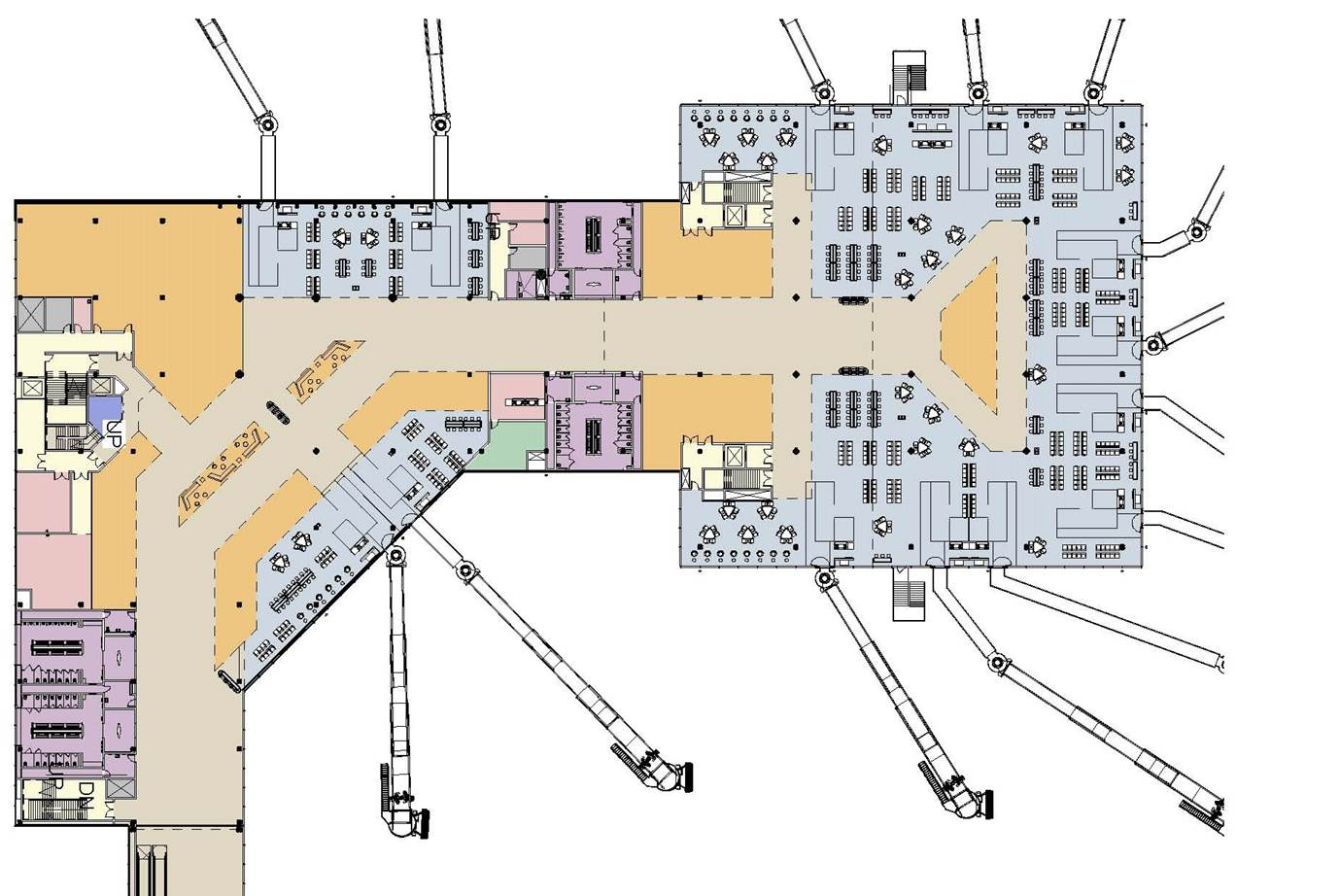Dca Airport Map on