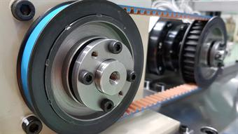 Examining motor torque for belt and pulley systems
