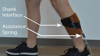 Engineers create low-profile ankle exoskeleton for the elderly, soldiers, postal workers