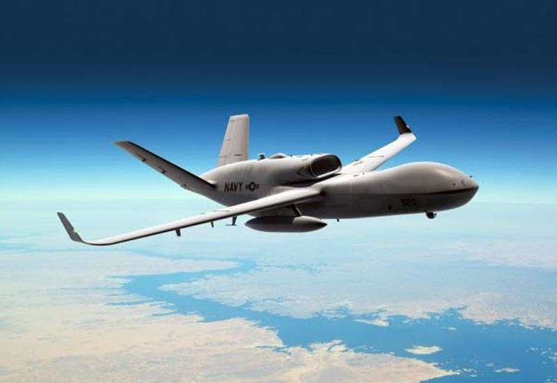Concept image of General Atomics' MQ-25 unmanned tanker. Source: General Atomics