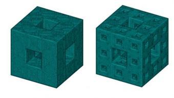 Team develops fractal cubes that disperse shockwaves