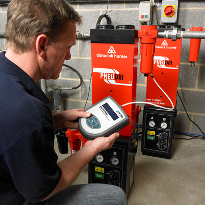 Measurement and control of compressed air systems