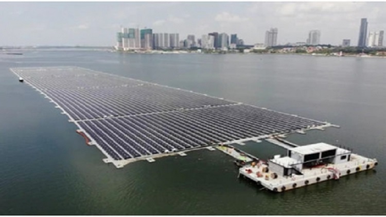 The rising tide of floating solar systems