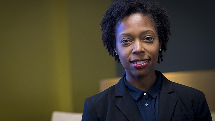 Dr. Nandi O. Leslie, part of an Army Research Laboratory team that studied empirical data on successful cyber intrusions. Source: Jhi Scott, U.S. Army Photographer