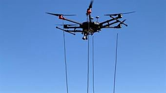 Drone technology detects and maps lost ordnance