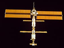 The International Space Station is powered by solar energy.