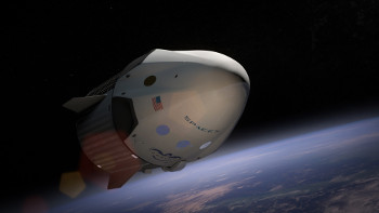 Artist's concept of the Dragon 2 crew module. Source: SpaceX