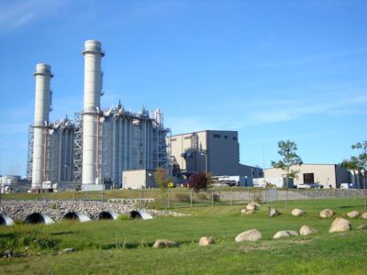 가스 화력 발전은 먼지에 석탄을 남기고 있습니다 ...