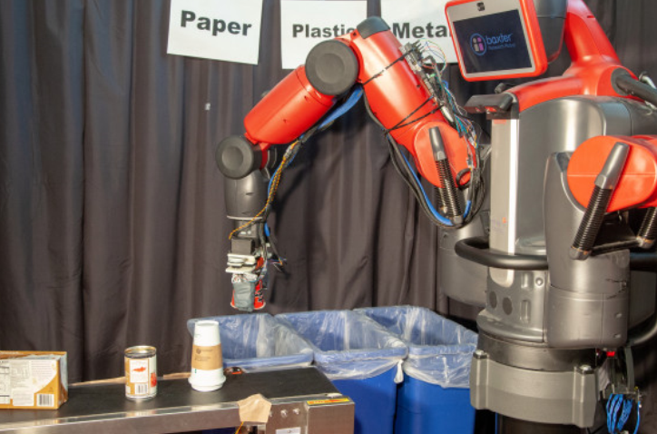 First robot to sort waste by touch | Engineering360