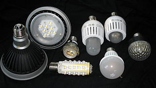A selection of commercially available LED lamps with Edison (screw-type) base. Image source: wikipedia, credit Geoffrey A. Landis