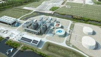 This Power Plant Would Stand Above Rising Sea Levels