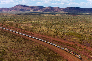 Rio Tinto has been working on autonomous train technology since 2012. (Source: Rio Tinto)