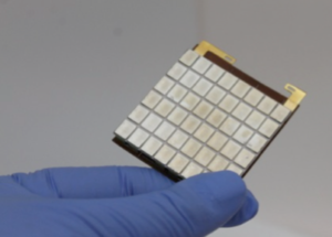A thermoelectric device by Alphabet Energy (Courtesy Alphabet Energy)