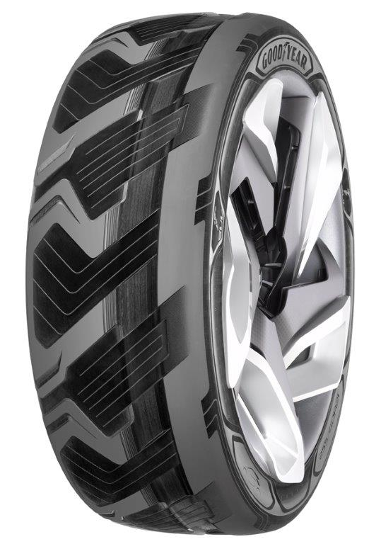 High-tech Innovations Drive Concept Auto Tires