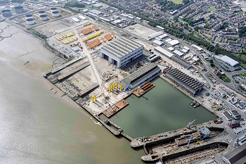 The new Birkenhead facility. (Source: Nuclear Advanced Manufacturing Research Centre)