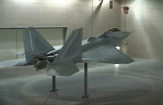 Indoor RCS measurement facility for the F-22. Source: U.S. Air Force