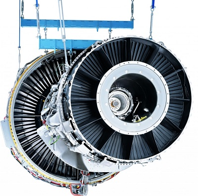 The LM6000 aeroderivative gas turbines are essentially a ground-based version of GE's popular CF6 jet engine — the same engine that powers many Boeing 747s, including Air Force One. (Image credit: GE Reports/GE Aviation)