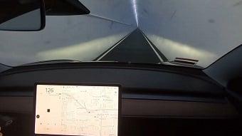 Elon Musk's Boring Company opens Vegas loop using Teslas