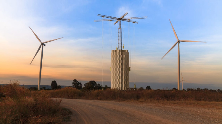 Massive, Gravity-Based Battery Towers Could Solve Renewable Energy's Storage Problem