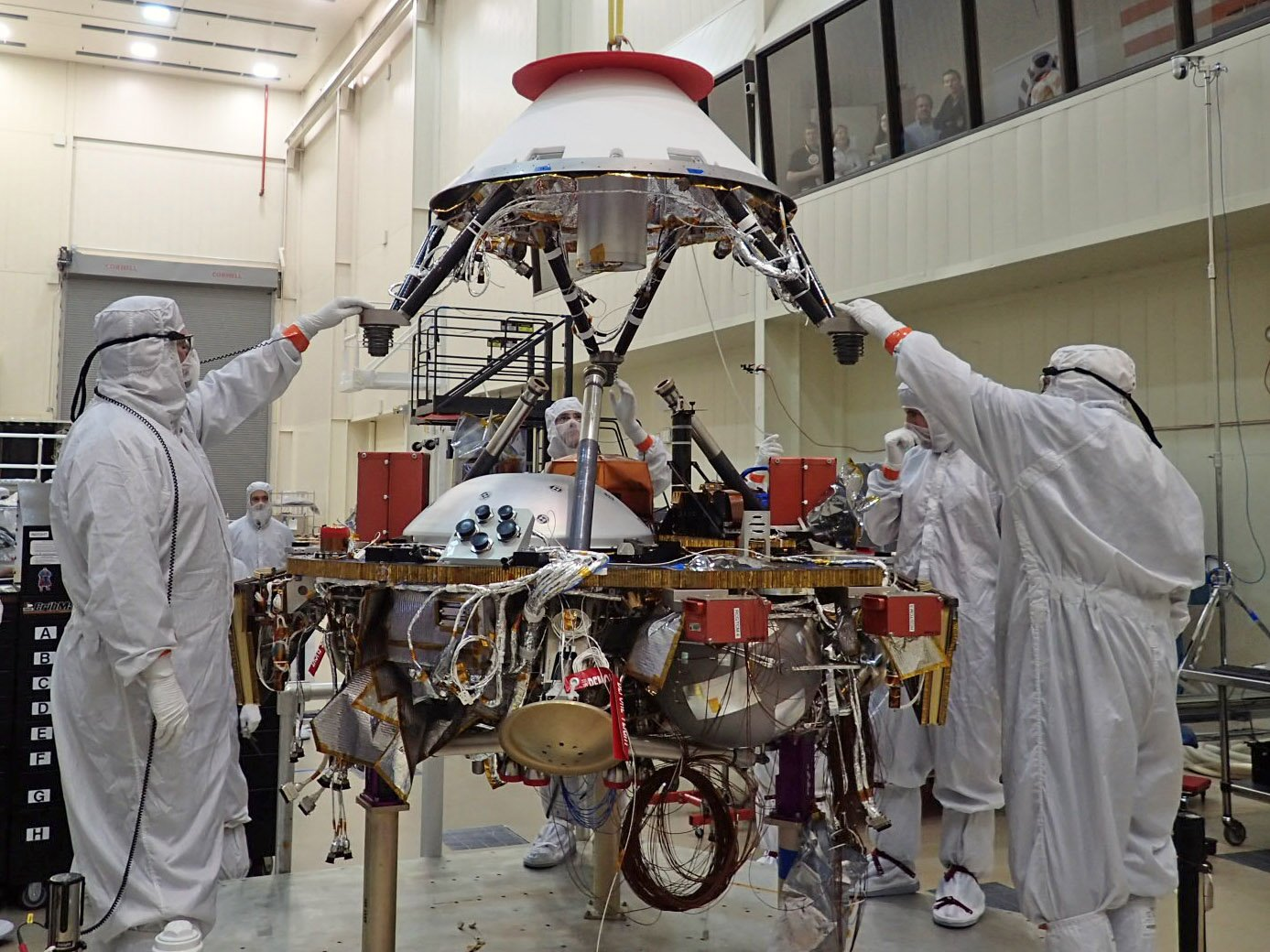 Nasa S Insight Lander Will Study The Martian Deep Interior In 2018 Engineering360