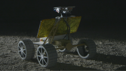 In the Google Lunar XPRIZE competition, Astrobotic Technology's moon lander will carry its own Andy rover (shown here) as well as rovers or payloads from other international teams. Image source: Astrobotic Technology.