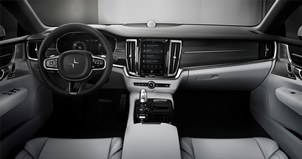 (Click to enlarge.) Interior of Polestar 1. Source: Volvo Car Group