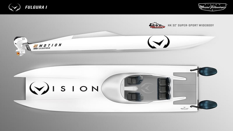 Video: World speed record chased by electric outboard powertrain system
