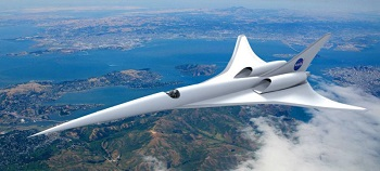 A new ceramic coating can help hypersonic aircraft withstand extreme oxidation and heat conditions. Image credit: University of Manchester