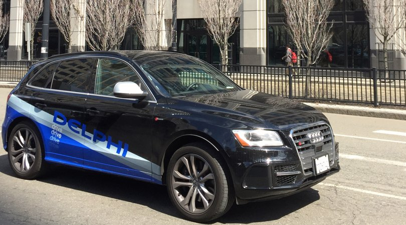 DelphiEquipped Audi Drives Itself US CoasttoCoast - Audi car that drives itself