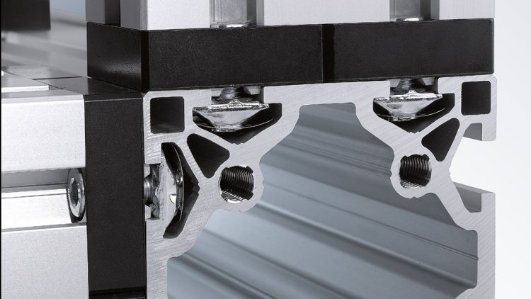 Unique T-slot fastening technology underpins modular automation system