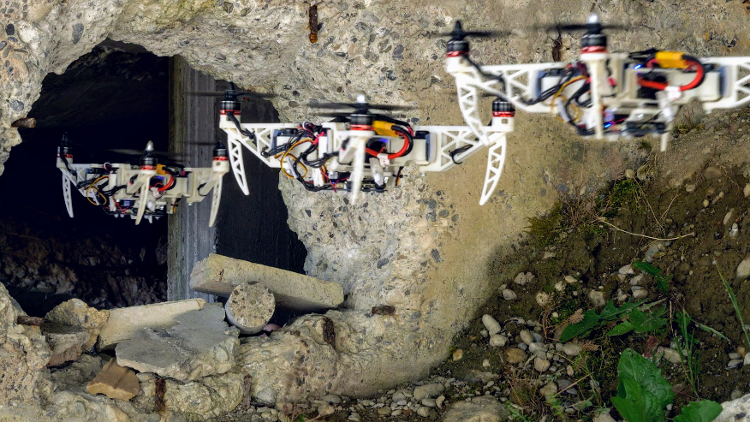 Morphing aerial drones: Flying robot dragons, bird-mimicking quadrotors and more