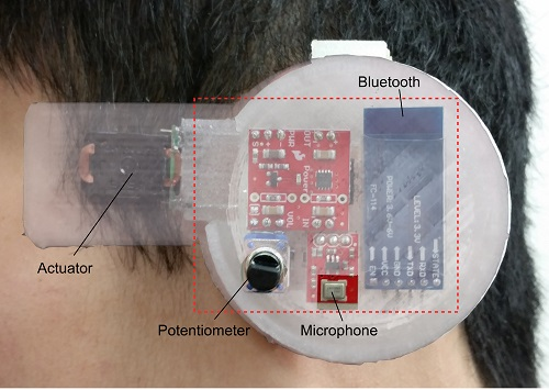 "An ""earable"" sensor can track core body temperature -- a key health indicator -- continuously."