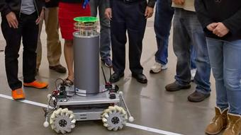 Robot swarm could detect nuclear material